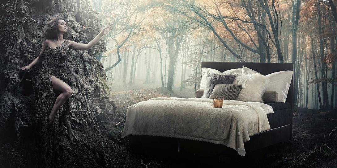 prinzessin auf der erbse maylan die m belmarke mit dem schwarzen engel innenarchitekt linz. Black Bedroom Furniture Sets. Home Design Ideas